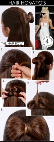 lulu - hair bow tutorial