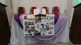Crianças da Mooca apresentam uma cidade acolhedora para Maria e José