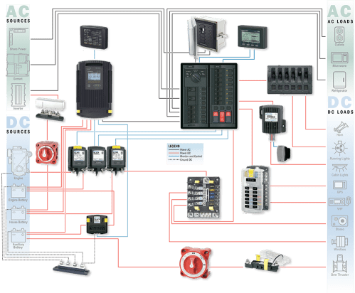 small resolution of 3 battery bank 1 engine electrical system