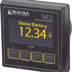 Marine Battery Monitoring System Club Car Zip Tie M2 Dc Voltmeter Blue Sea Systems