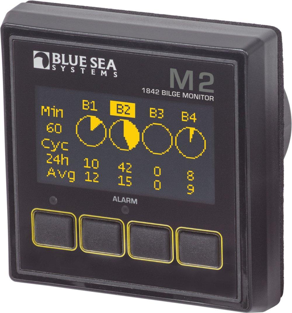 medium resolution of  blue m2 oled digital bilge meter blue sea systems blue seas switch wiring diagram bilge on