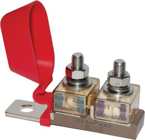 Dual MRBF Terminal Fuse Block  30 to 300A  Blue Sea Systems