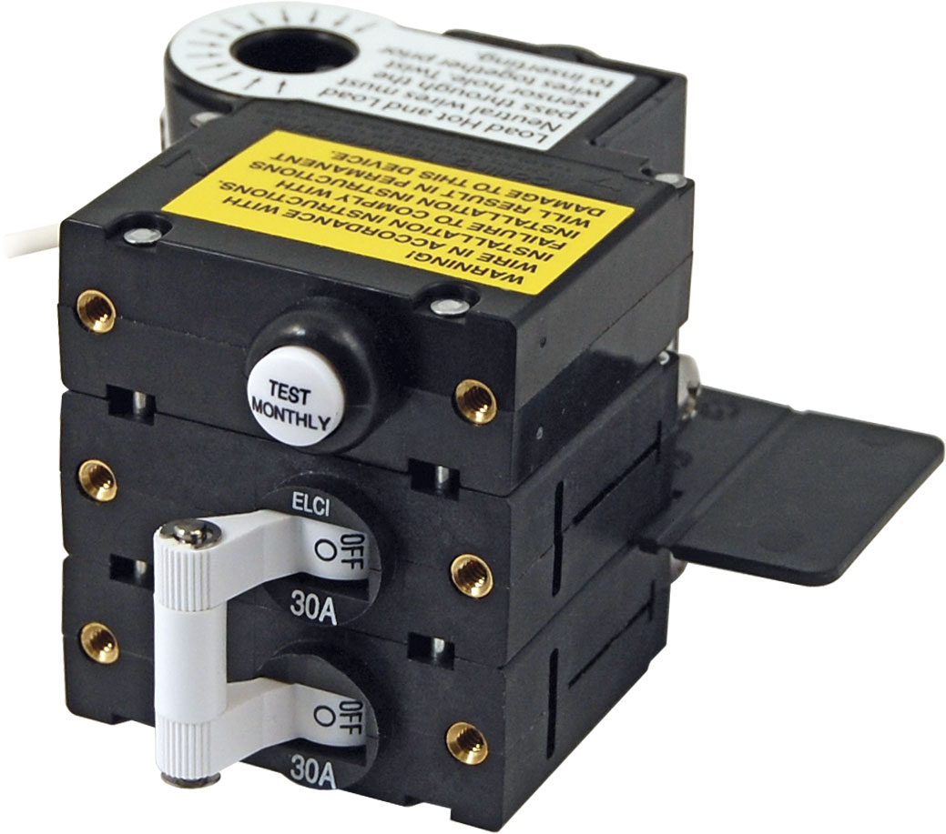 A Series Elci Main Circuit Breaker