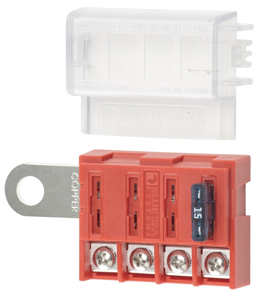 medium resolution of st blade battery terminal mount fuse block box