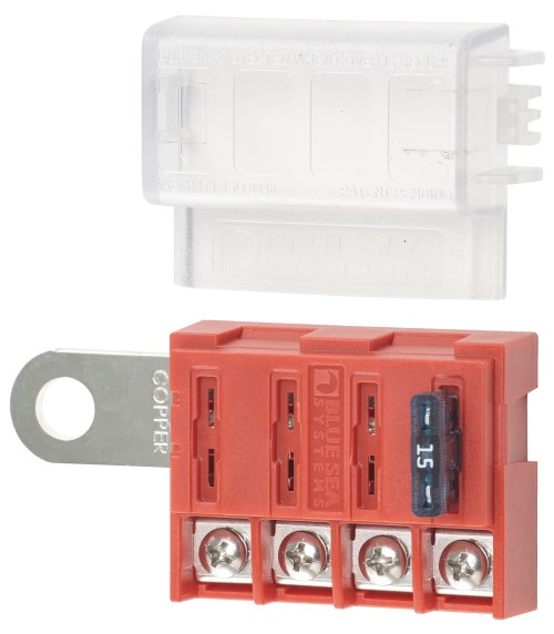 small resolution of st blade battery terminal mount fuse block box