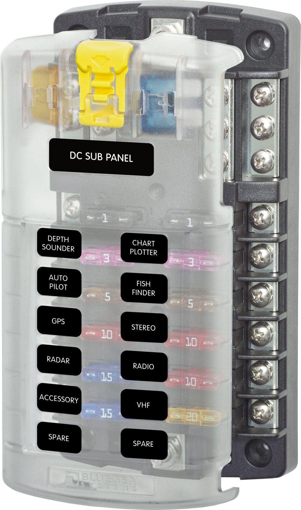 medium resolution of marine dc fuse box wiring diagram go marine dc fuse box