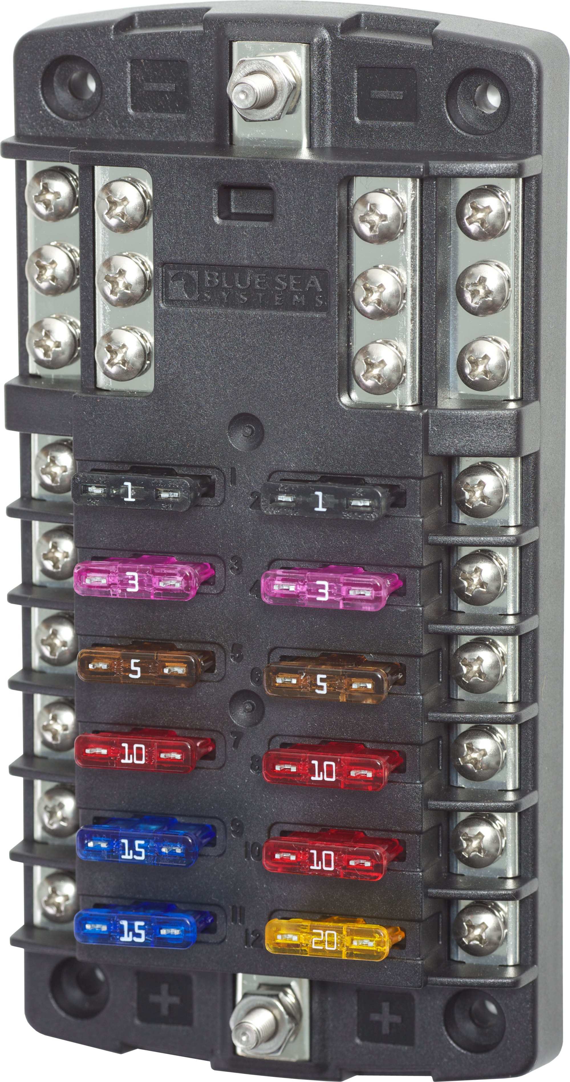 hight resolution of marine dc fuse box wiring diagram 12v marine fuse box with negative wiring diagram amest blade