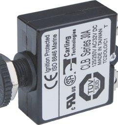 push button reset only quick connect circuit breaker 30 amps [ 1160 x 910 Pixel ]