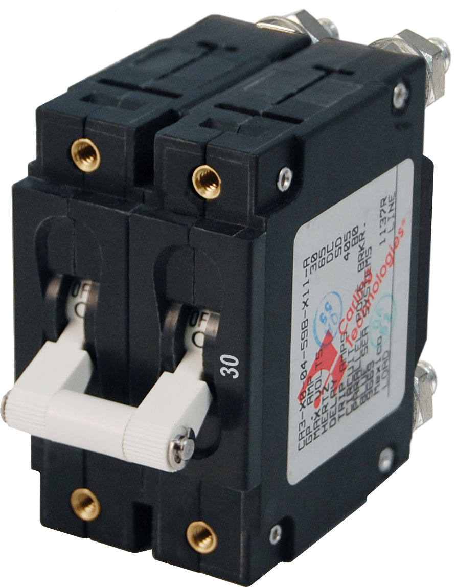 medium resolution of c series white toggle circuit breaker double pole 30 amp