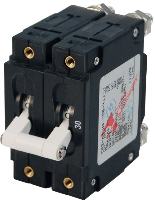 small resolution of c series white toggle circuit breaker double pole 30 amp
