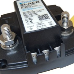 Blue Sea Mini Add A Battery Wiring Diagram Honda Cb400t Si Acr Automatic Charging Relay 12 24v Dc 120a Systems
