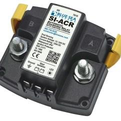 Blue Sea Mini Add A Battery Wiring Diagram Kenwood Kdc 355u Si Acr Automatic Charging Relay 12 24v Dc 120a Systems