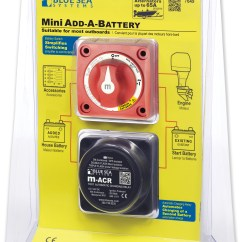 Blue Sea Add A Battery Wiring Diagram Rv Inverter Charger 7601 28 Images