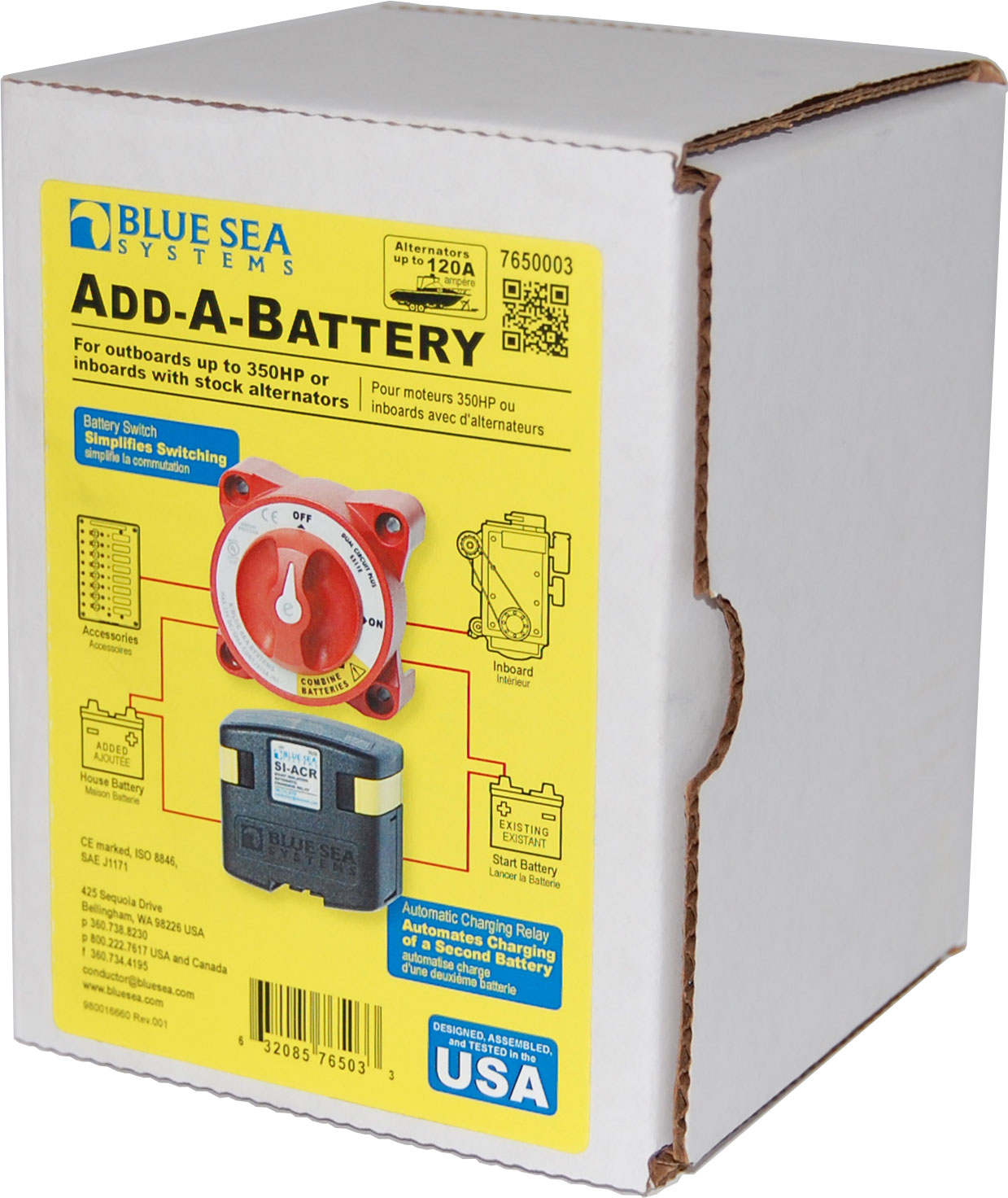 blue sea add a battery wiring diagram rockford fosgate capacitor automatic charging relay marine