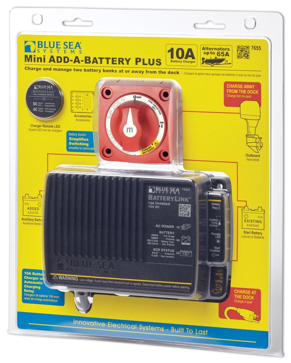 medium resolution of mini add a battery plus kit 65a north america