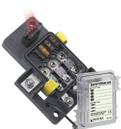 safetyhub 100 fuse block blue sea systems diode fuse box marine dc fuse box [ 1756 x 1920 Pixel ]