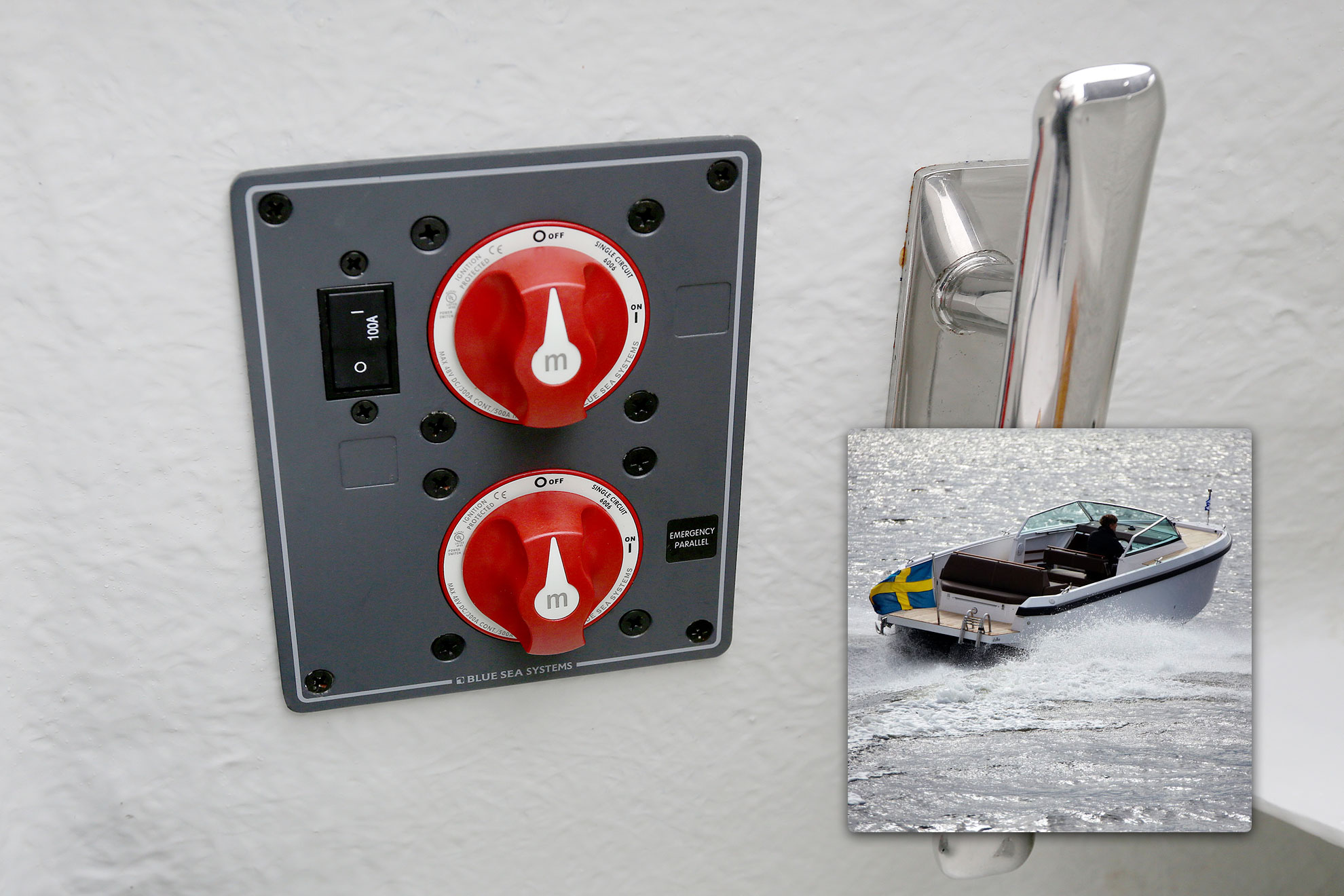 Series Selector Battery Switch Blue Sea Systems