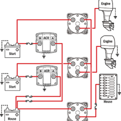 Blue Sea Add A Battery Wiring Diagram Capacitor Car Audio Management Schematics For Typical Applications Can Isolate Any Source From Batteries