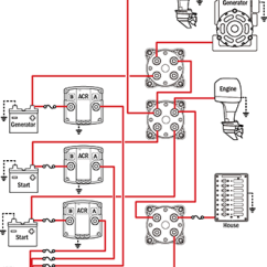 Blue Sea Add A Battery Wiring Diagram Dual Car Stereo Management Schematics For Typical Applications Can Parallel Batteries Extra Starting Power