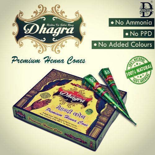 Premium Henna Cone