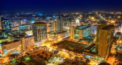 Nairobi at night. Photo courtesy of chelipeacock.coml