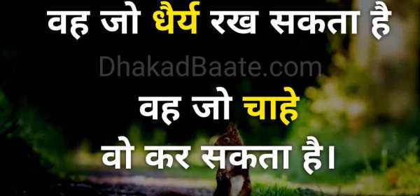 Best Patience Quotes In Hindi
