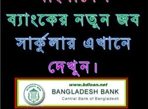 Bangladesh Bank Data Entry Operator Job Circular