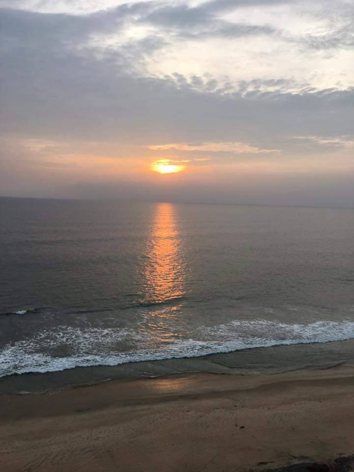 Arabian Sea sunset