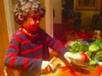 Caleb chopping 2
