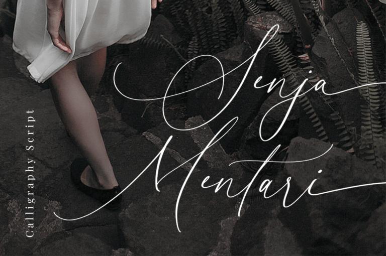 Preview image of Senja Mentari – Modern Script
