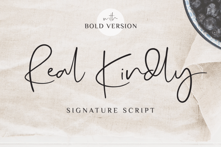 Preview image of Real Kindly – Signature Script