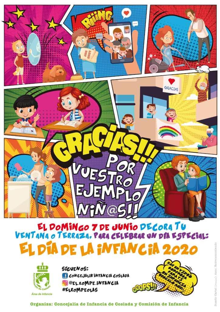 Día de la Infancia de Coslada 2020