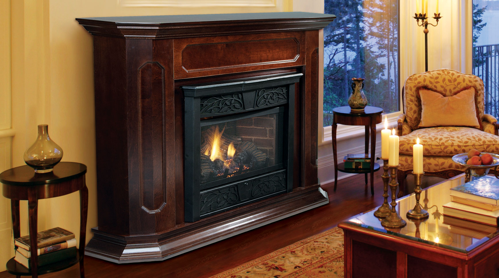 Vent Free Lp Gas Fireplace