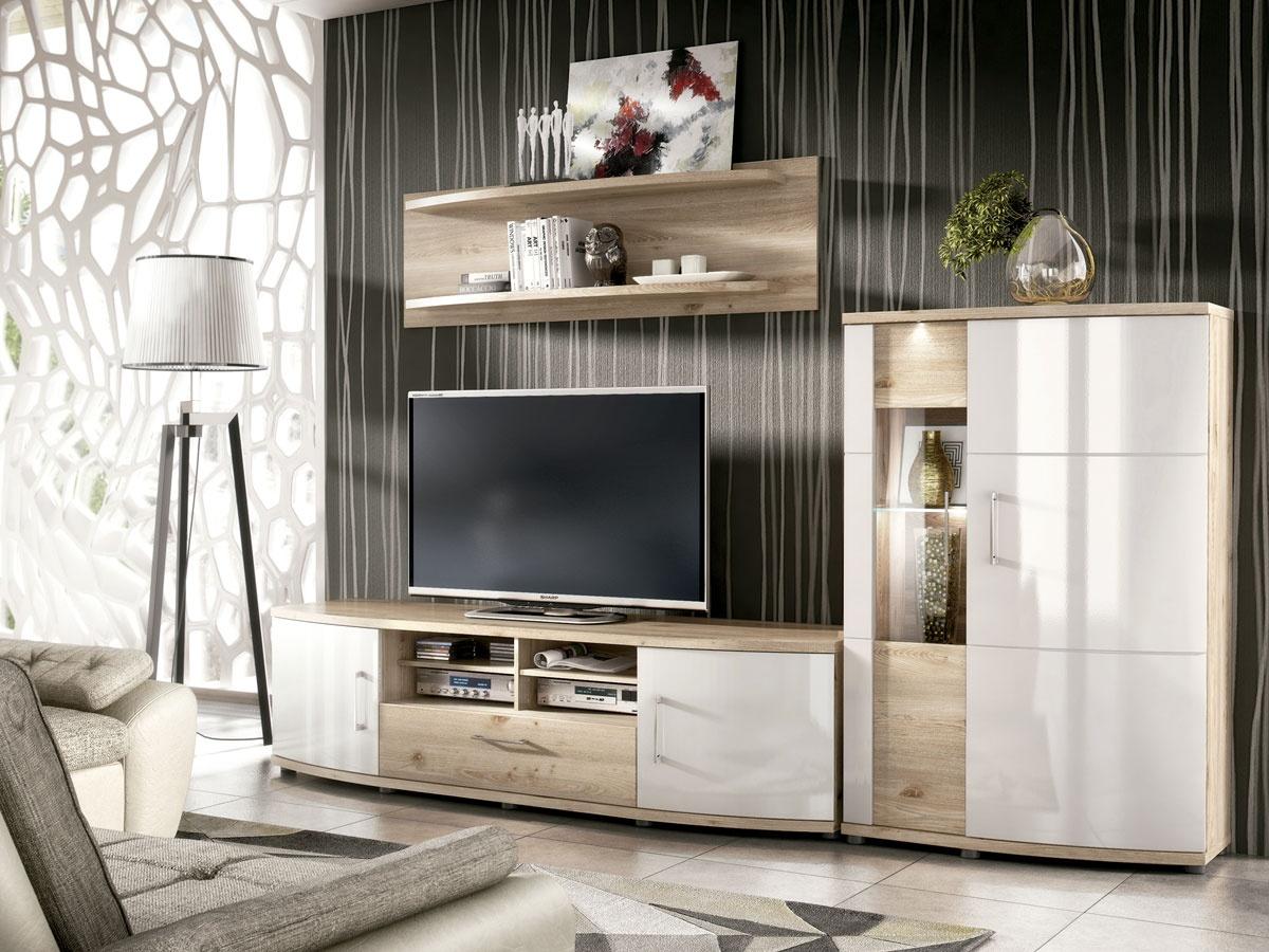 Saln conjunto de mueble modular Vitoria para tv y