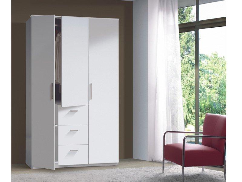 Armario dormitorio wengu comprar armario 3 puertas color