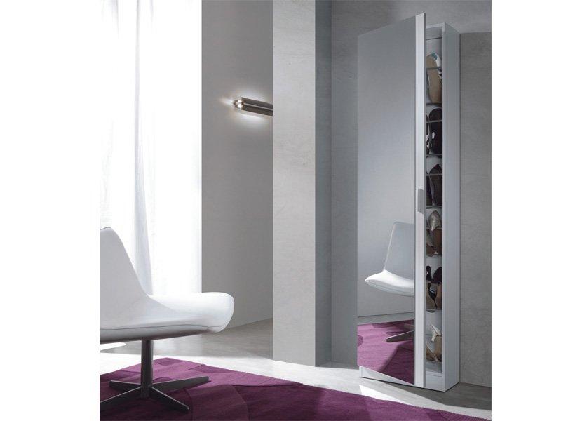 Mueble zapatero blanco comprar zapatero blanco con espejo