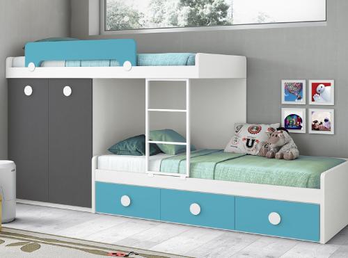 Dormitorios juveniles  Muebles La Fabrica