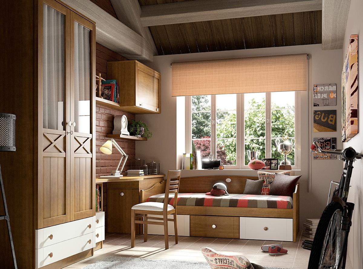 Dormitorio MIRLO Dormitorios juveniles  MueblesLaFabrica