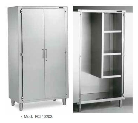 armario inox para articulos de limpieza distform