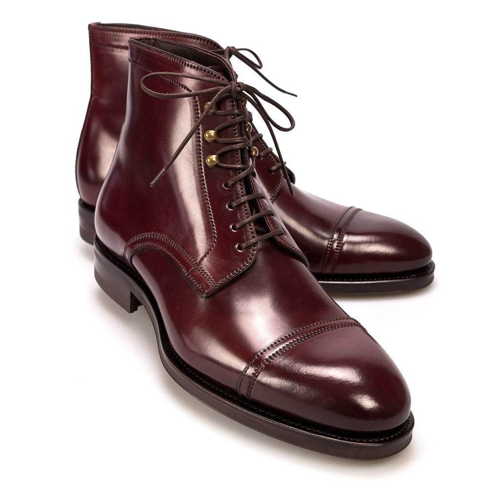 jumper boot in cordovan