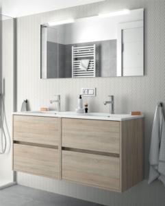 meuble salle de bain noja 120 cm salgar