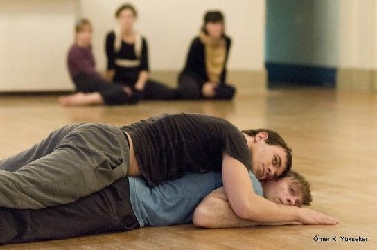 Zhenya Cerneacov and Brendan Wyatt in Yvonne Ng's Frequency (2012) - Photo by Ömer K. Yukseker ©