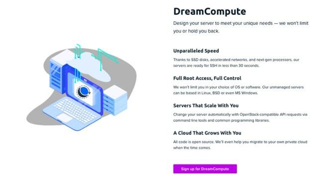 DreamCompute info on dreamhost.com