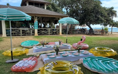 Sans Souci Beach Club Birthday // Barefoot Beach Cafe