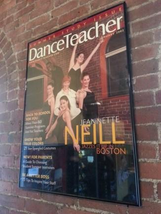 Award winning studio founder, Jeannette Neill, featured on the cover of DanceTeacher.