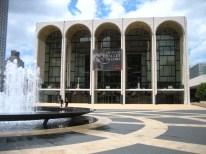 The Metropolitan Opera building