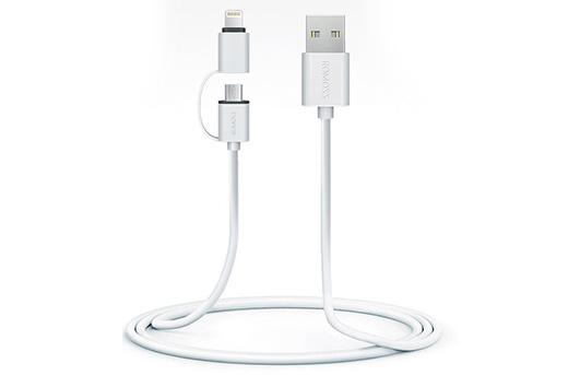 40% off Romoss Smart 2-in-1 Lightning Micro USB Cable Promo