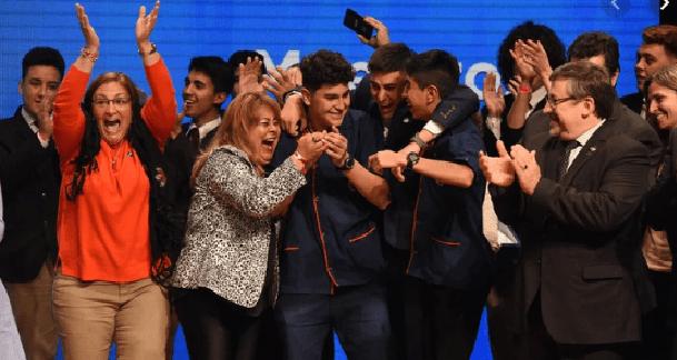 """Un proyecto de robótica ganó el premio """"Maestros Argentinos 2019"""""""
