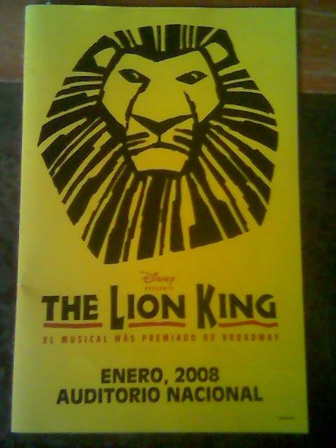 The Lion King, el musical de Broadway (1/4)